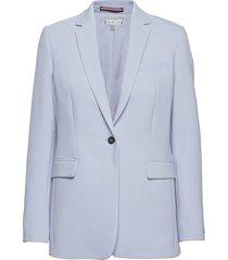 core suiting sb blazer blazers casual blazers blå tommy hilfiger