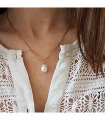 łańcuszek z perłą