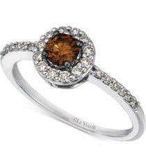 le vian chocolatier diamond ring (1/2 ct. t.w.) in 14k white gold
