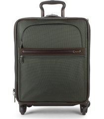 tumi continental 4-wheel expandable carry-on - grey brown