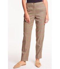 eleganckie spodnie w pepitkę