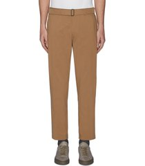 'curtis' belt chino pants