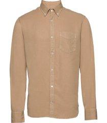 levon shirt 5969 overhemd casual beige nn07