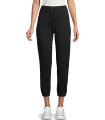 grey state women's ecp park high waisted joggers - black - size s