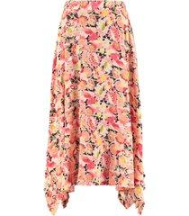 stella mccartney ashlyn printed silk skirt