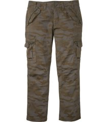 pantaloni cargo baggy fit straight (verde) - rainbow
