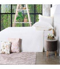 jogo de cama 200 fios casal 100% algodão pentado toque macio essence - bene casa