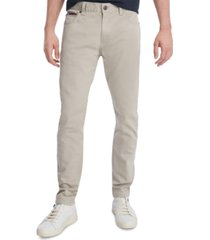 tommy hilfiger men's custom-fit stretch travel pants