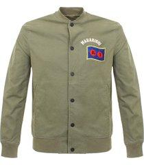 maharishi year of the rooster olive stadium jacket 6120