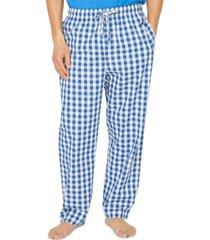 nautica men's cotton buffalo plaid pajama pant