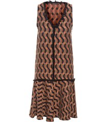 vestido ataturk - marrom