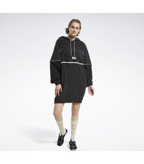 sweater reebok classic classics winter escape jurk met capuchon