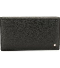 bally gobyt leather wallet - black