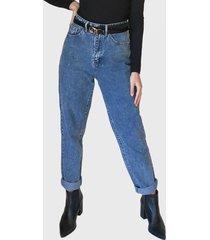 jeans missguided azul - calce regular