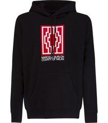 marcelo burlon county of milan rural cross hoodie