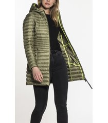 beaumont bm09131211 hooded long down jacket