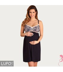 lupoline voedingsjurk / zwangerschapsjurk romantic pink