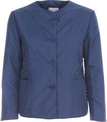 new tenerina crew neck jacket w/applied pocket