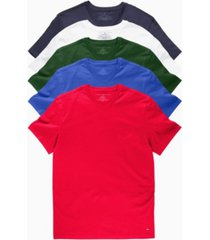 tommy hilfiger men's v-neck undershirt, pack of 5