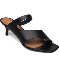pittuini black vacchetta shoes summer shoes flat sandals svart atp atelier