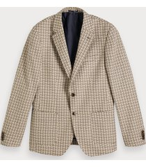 scotch & soda gestructureerde blazer