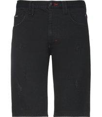 philipp plein denim shorts