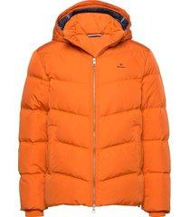 d1. the alta down jacket fodrad jacka orange gant