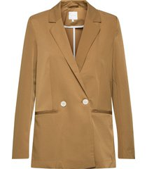 visally tailored blazer/za blazers casual blazers beige vila