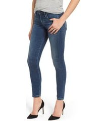 women's citizens of humanity ankle skinny jeans, size 22 - blue