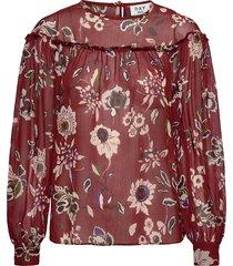 day mood blouse lange mouwen rood day birger et mikkelsen