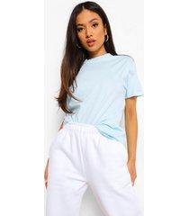 petite basic t-shirt, light blue