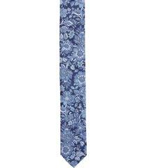 krawat platinum niebieski classic 239