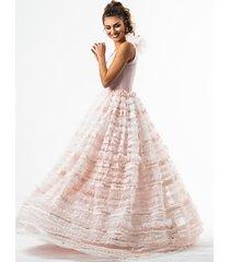 alice suknia z koronkową spódnicą