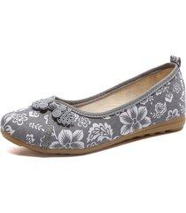 scarpe piatte di vecchia stampa di pechino
