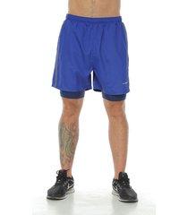 pantaloneta deportiva azul rey racketball