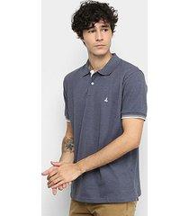 camisa polo lucky sailing frisos masculina