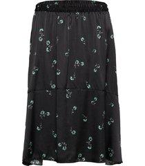 lisbet knälång kjol svart fall winter spring summer