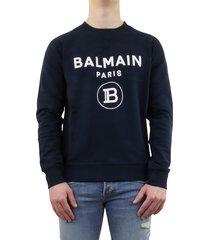 flock balmain sweater blauw
