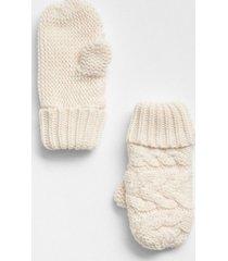 guantes toddler girls blanco gap