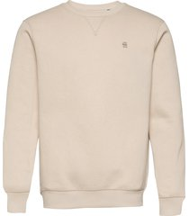 premium core r sw l\s sweat-shirt tröja rosa g-star raw