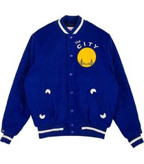 college jacket in the stands varsity jacket golwar