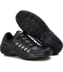 sapatenis couro tchwm shoes masculino design moderno dia dia preto - preto - masculino - dafiti