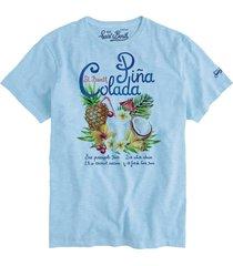 piña colada cocktail man t-shirt