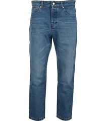 ami tapered fit jeans