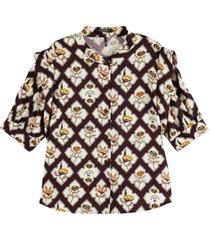 maison scotch shortsleeve shirt with sleeve inser combo b