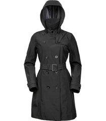 abrigo mujer daena negro doite