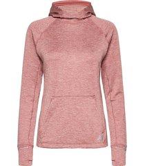 nb heat grid hoodie hoodie trui roze new balance