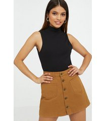 only onlamazing hw canvas skirt pnt minikjolar