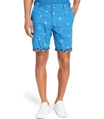 "brooklyn brigade men's standard-fit 9"" tang flat front shorts"