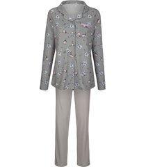pyjama blue moon zilvergrijs/roze/bleu